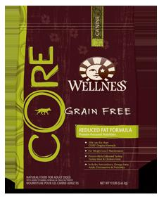 Wellness Core Reduced Fat Formula (Dry) best dog food