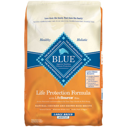 blue buffalo dry dog food