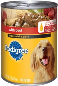 Pedigree 13.2oz Cans Wet Dog Food
