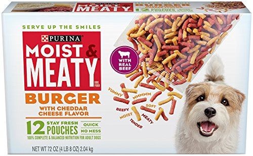 Purina Moist & Meaty Wet Dog Food