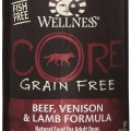 Wellness CORE beef, venison and lamb formula